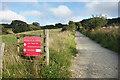 SZ5381 : Stenbury Trail near Godshill by Des Blenkinsopp