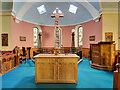 NY1068 : Ruthwell Church, The Ruthwell Cross by David Dixon