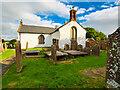NY1068 : Ruthwell Church by David Dixon