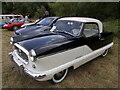 TF1207 : 1958 Austin Nash Metropolitan at the Maxey Classic Car Show - August 2021 by Paul Bryan