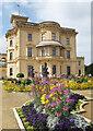 SZ5194 : Flower Beds at Osborne House by Des Blenkinsopp