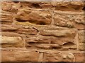 SK5042 : Eroded sandstone by Alan Murray-Rust
