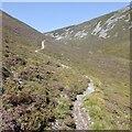 NN9471 : Path on Beinn a' Ghlo by Richard Webb
