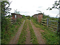 SO8751 : Brockhill Farm Overbridge, Norton, Worcestershire by Chris Allen