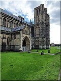 ST5545 : Wells Cathedral, North Entrance by V1ncenze