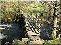 SD2892 : Footbridge over Torver Beck by Adrian Taylor