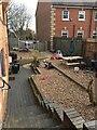 SP2864 : Outdoor space, deserted nursery, Gerrard Street, Warwick by Robin Stott