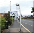 SJ8989 : Road re-numbering by Gerald England