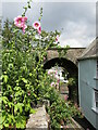 SX8060 : Totnes - Castle Street Arch by Colin Smith