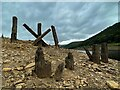 SK1691 : Remains of Birchinlee Viaduct by Graham Hogg