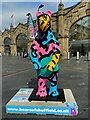 SK3586 : Bears of Sheffield: #33 Colours by Charlie 2 by Graham Hogg