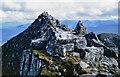 NN2166 : Blocks of rock on north ridge of Binnein Mòr by Trevor Littlewood