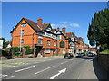 SU2908 : The Crown hotel, Lyndhurst by Malc McDonald