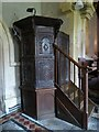 SP0933 : Pulpit in St Barnabas church by Philip Halling