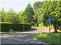 SZ0590 : Bury Road, Branksome Park, near Poole by Malc McDonald