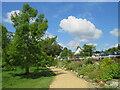 SZ0692 : Path in Coy Pond Gardens, near Bournemouth by Malc McDonald