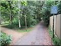 SZ0692 : Bourne Valley Greenway, near Bournemouth by Malc McDonald