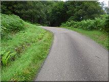 NR9883 : Steep hill at Bealachandrain by Thomas Nugent