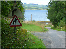 NR9384 : Loch Fyne at Otter Ferry by Thomas Nugent