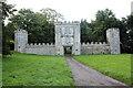 SY2597 : Gatehouse of Old Shute House, Shute by Jo Turner