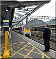 SJ8497 : A train to the airport by Gerald England