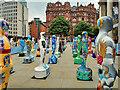 SJ8397 : Gratitude, St Peter's Square Manchester by David Dixon