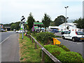ST1500 : Service area and shop between Exeter Road and the A30 (T) by Vieve Forward