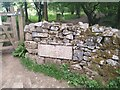 ST4854 : Gateway & Marker Stone at Piney Sleight by Kevin Pearson