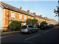 ST3207 : Terrace of houses in Forton Road by Vieve Forward