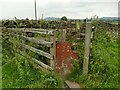 SD9749 : An odd gate on a footpath by Stephen Craven