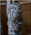 TF2778 : Pew end, St Martin's church, Scamblesby by Julian P Guffogg