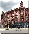 SP0787 : Northeast side of the derelict Central Hall, Ryder Street, Birmingham by Robin Stott