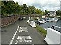 NS4573 : Quay, Upper Basin, Bowling by Richard Sutcliffe