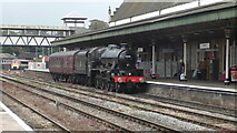 SO5140 : Hereford railway station by Colin Prosser