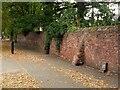 SK5340 : Old park wall alongside Wollaton Road by Alan Murray-Rust
