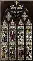 TF4369 : East window, Ss Peter & Paul church, Skendelby by Julian P Guffogg