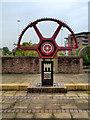 SJ8397 : The Grocers' Warehouse Cogwheel by David Dixon