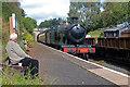 SO7289 : Severn Valley Railway - GWR 2-8-0 rolling through Eardington Station by Chris Allen