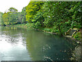 SE3136 : The Lake, Gledhow Valley Woods, Leeds by Humphrey Bolton