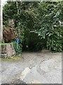 SS5634 : No Through Road from Roborough Road, Barnstaple by PAUL FARMER