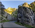 ST4754 : Cliff Road ascending through the Cheddar Gorge by Mat Fascione
