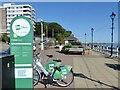 ST1871 : OVO e-bike charging station, Penarth by Robin Drayton