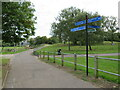 TQ4780 : Green Chain Walk, Thamesmead by Malc McDonald
