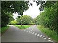 SZ3294 : Road junction near Lymington by Malc McDonald