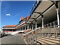 SJ4066 : Grandstand at Chester Racecourse by Richard Humphrey