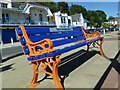 ST1871 : RNLI Friendship Bench, Penarth Esplanade by Robin Drayton