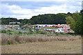 SP3468 : HS2 enabling works near Cubbington, September 2021 (1) by Robin Stott