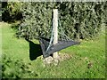 NU1400 : Seat in Longframlington Gardens by Oliver Dixon