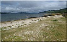 NR9284 : Shore at Otter Ferry by Thomas Nugent