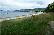 NR9284 : Loch Fyne at Otter Ferry by Thomas Nugent